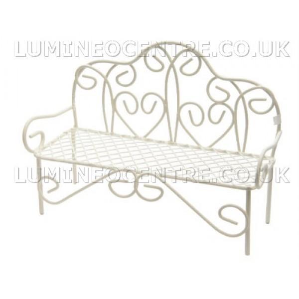 Surprising Bloomits Miniature Garden Bench Machost Co Dining Chair Design Ideas Machostcouk