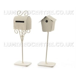 Bloom'its Miniature Bird House and Letter Box
