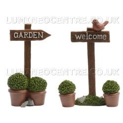 Bloom'its Miniature Garden Signs