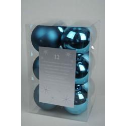Pack of 12  6cm Shatterproof Baubles