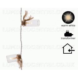 Lumineo 1.9m 20 Warm White LED Decoration Lights