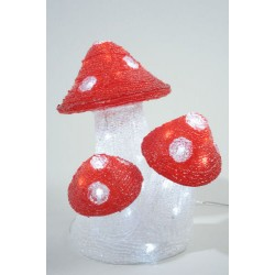Lumineo LED Acrylic Mushroom Lights