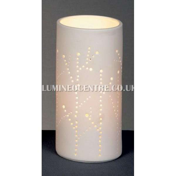 20cm porcelain vase table lamp premier 20cm porcelain vase table lamp mozeypictures Gallery