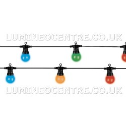 Lumineo 20  Multicoloured LED Party Light Extension Set