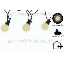Lumineo Warm White LED Party Light Starter Set