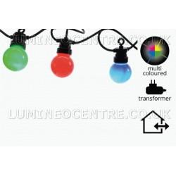 Lumineo 20  Multicoloured LED Party Light Starter Set