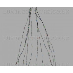 Lumineo 2.1m 672 LED Micro Static Sparkle Tree Lights