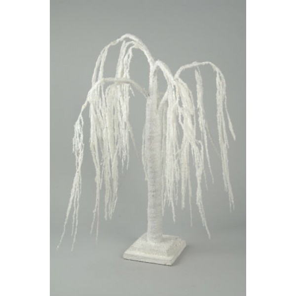 Snowy Weeping Willow Paper Tree