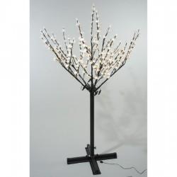 Lumineo 215cm 600 Warm White LED Pre-lit Outdoor Blossom Christmas Tree