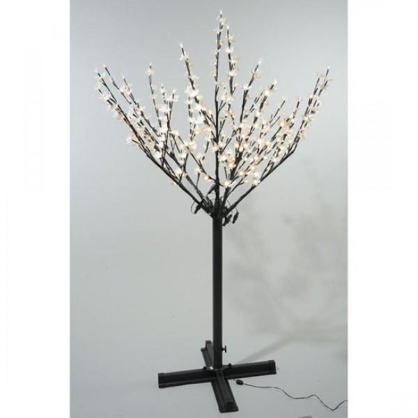 Christmas Tree Life Extender: Lumineo 215cm 600 Warm White LED Pre-lit Outdoor Blossom
