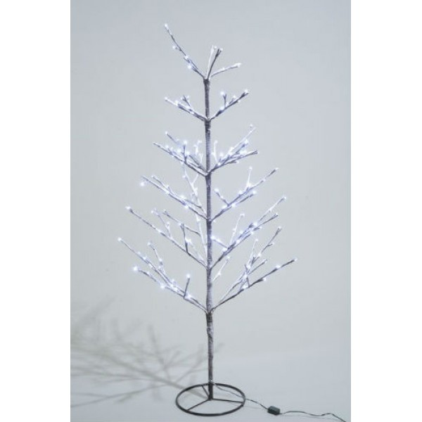 excellent lumineo cm cool white led pre lit outdoor snowy christmas tree with white pre lit christmas tree uk with pre lit outdoor christmas trees battery - White Outdoor Christmas Tree
