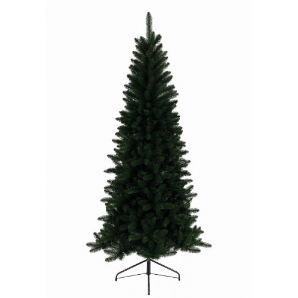 Slim Pre Lit Artificial Christmas Trees