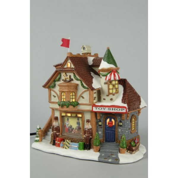 Christmas Toy Store : Lumineo lit toy shop