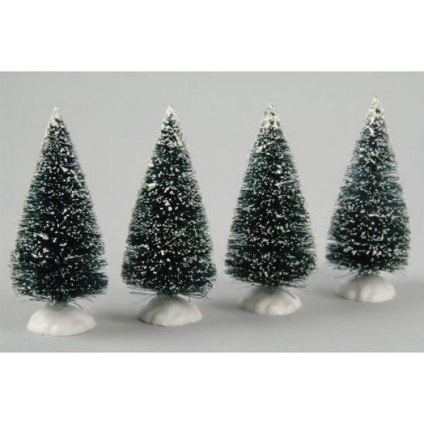 Lumineo 4 Miniature Christmas trees